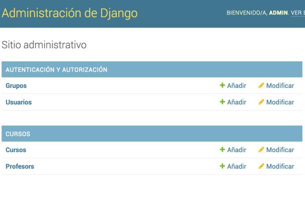 Django admin dashboard 2