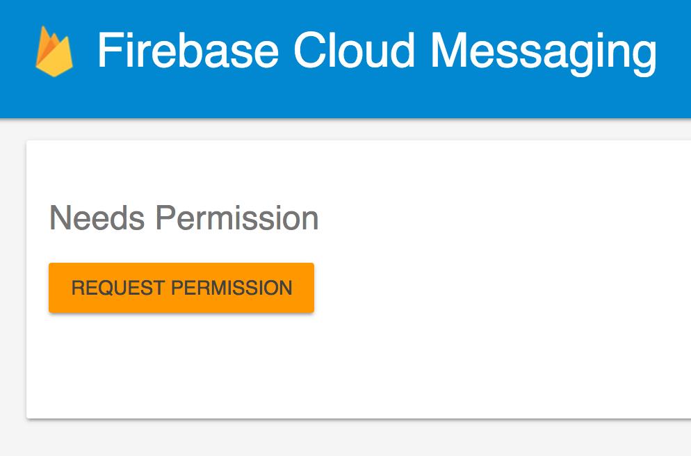 Firebase bienvenida