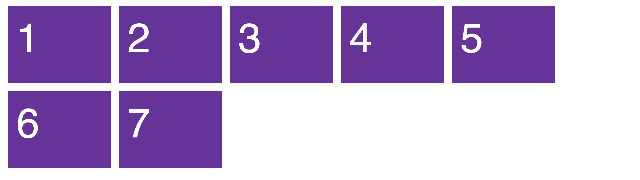 CSS Grid - Galería con espacios