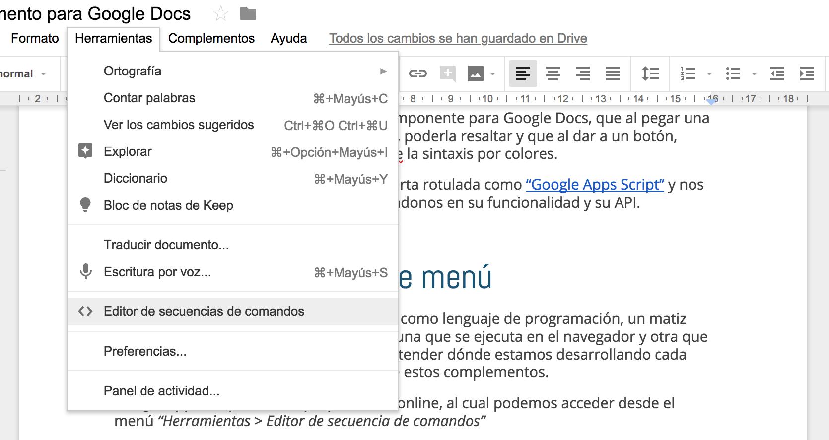 df14fef157 Cómo hacer un complemento para Google Docs - Adictos al trabajo