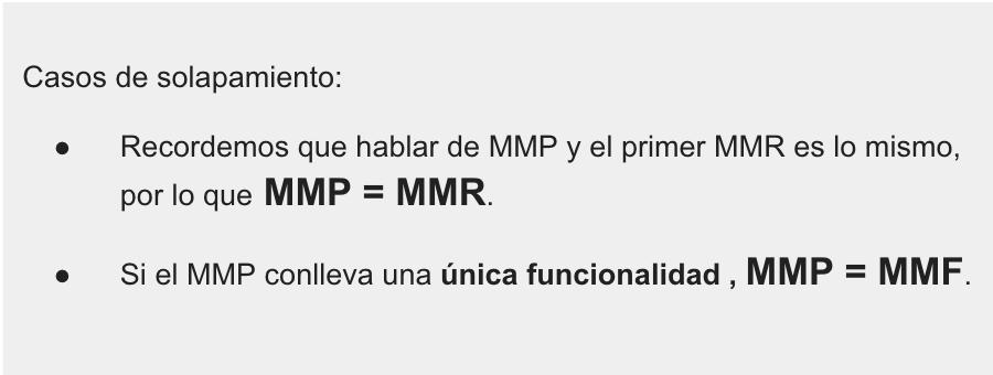 Solapamiento MMP