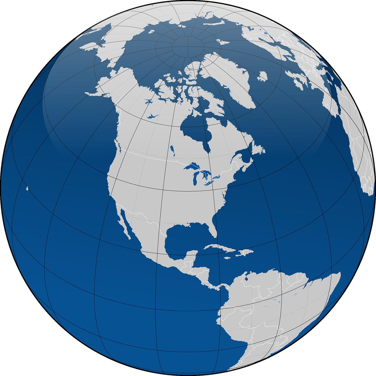 Imagen del globo terráqueo