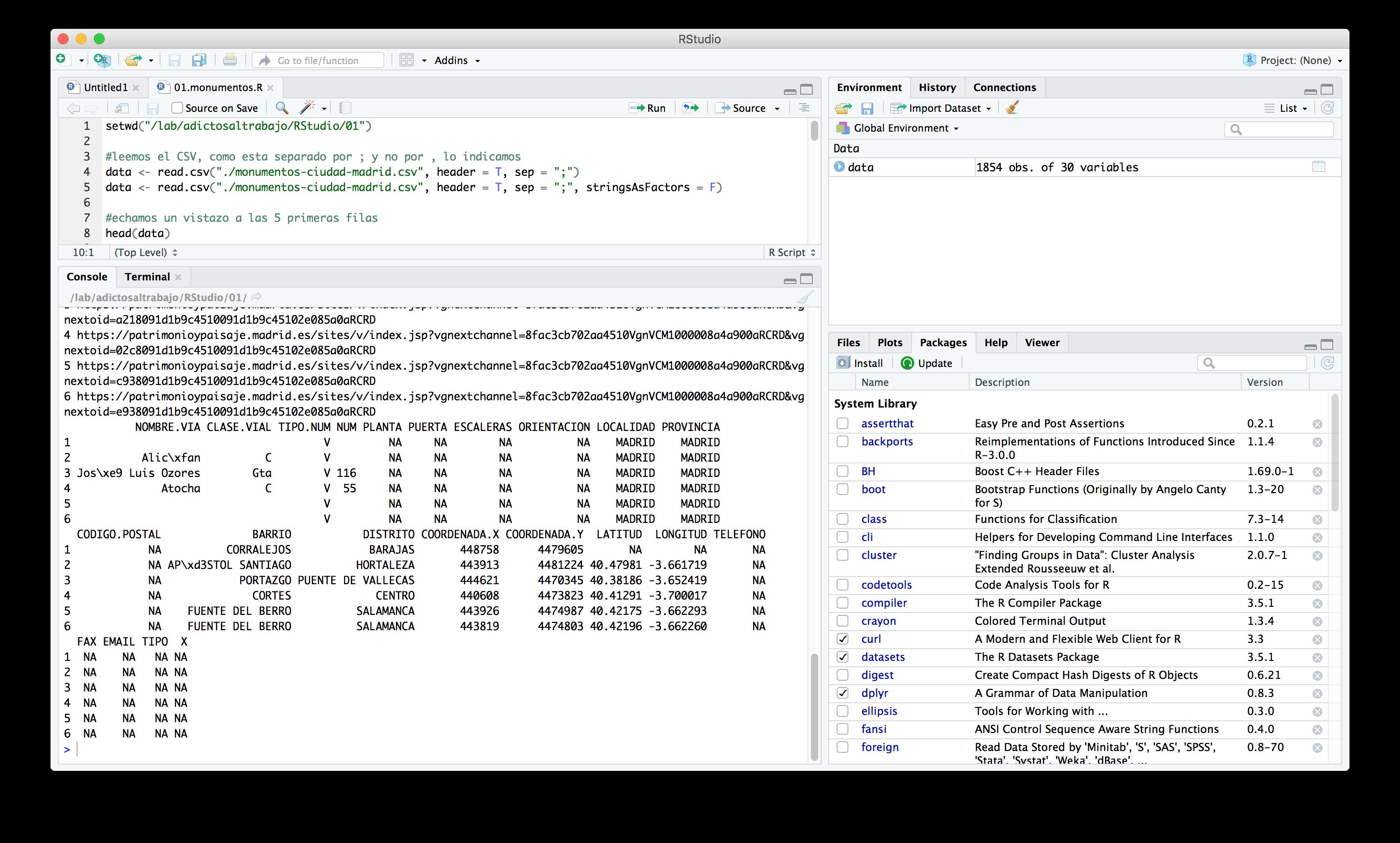 El Data Science con R y Rstudio se puede trabajar de forma muy sencilla