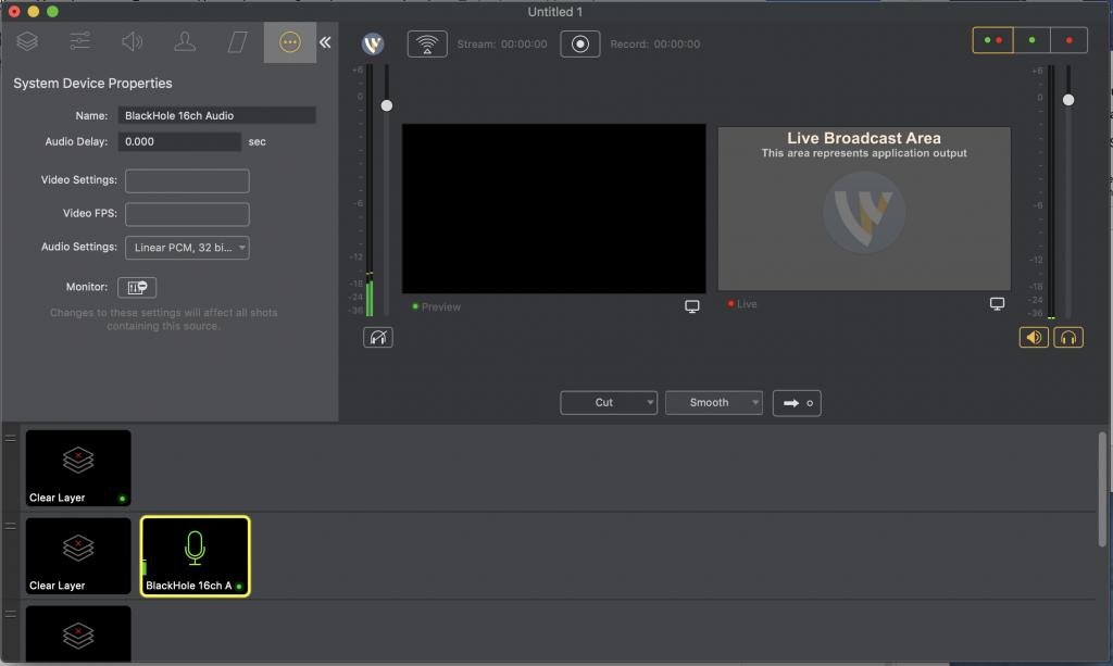 """Captura de pantalla """"El sonido está llegando a nuestro proyecto"""""""