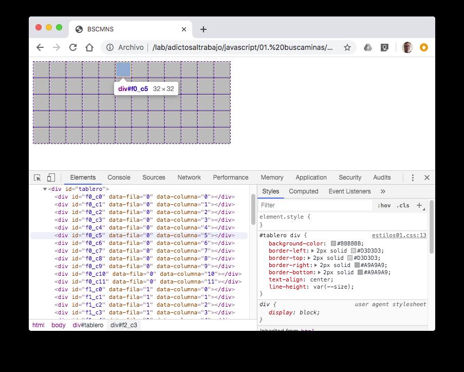 html generado IDs