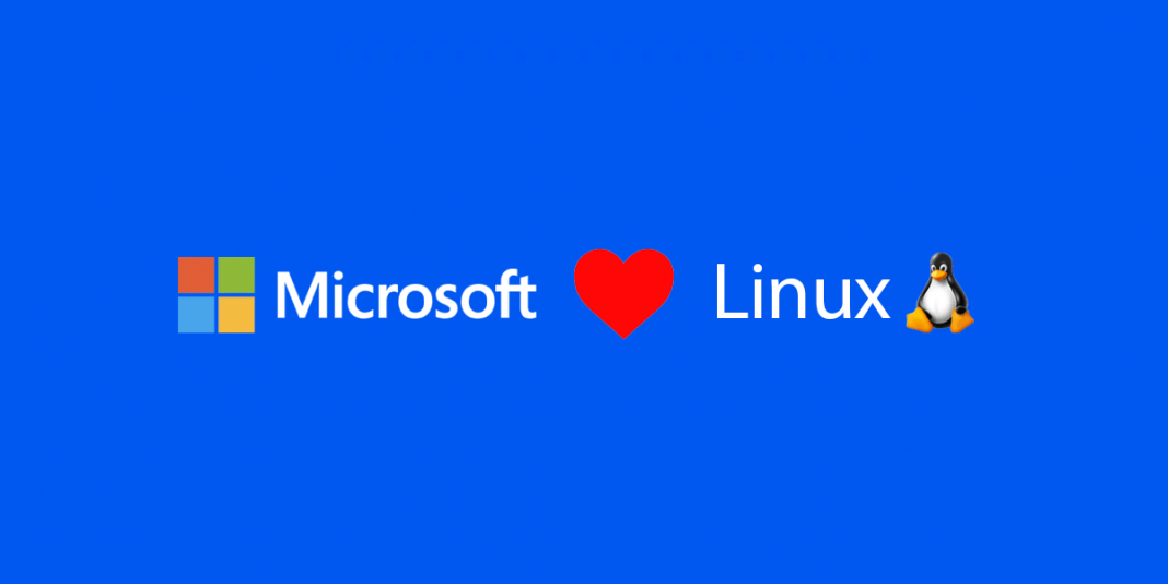 logo de microsoft love logo de linux