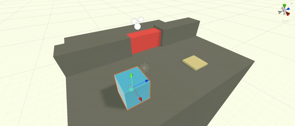 En la imagen se muestra la escena con los distintos objetos.