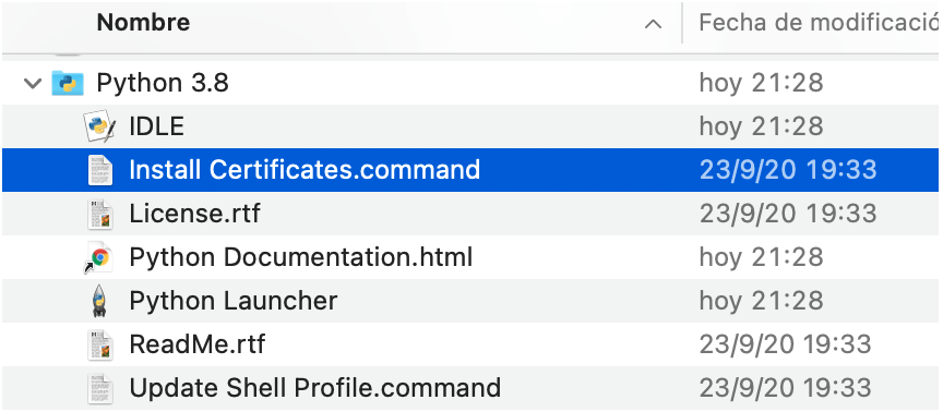 Install Certificates.Command