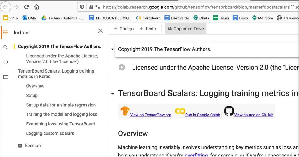 TensorBoard Scalars