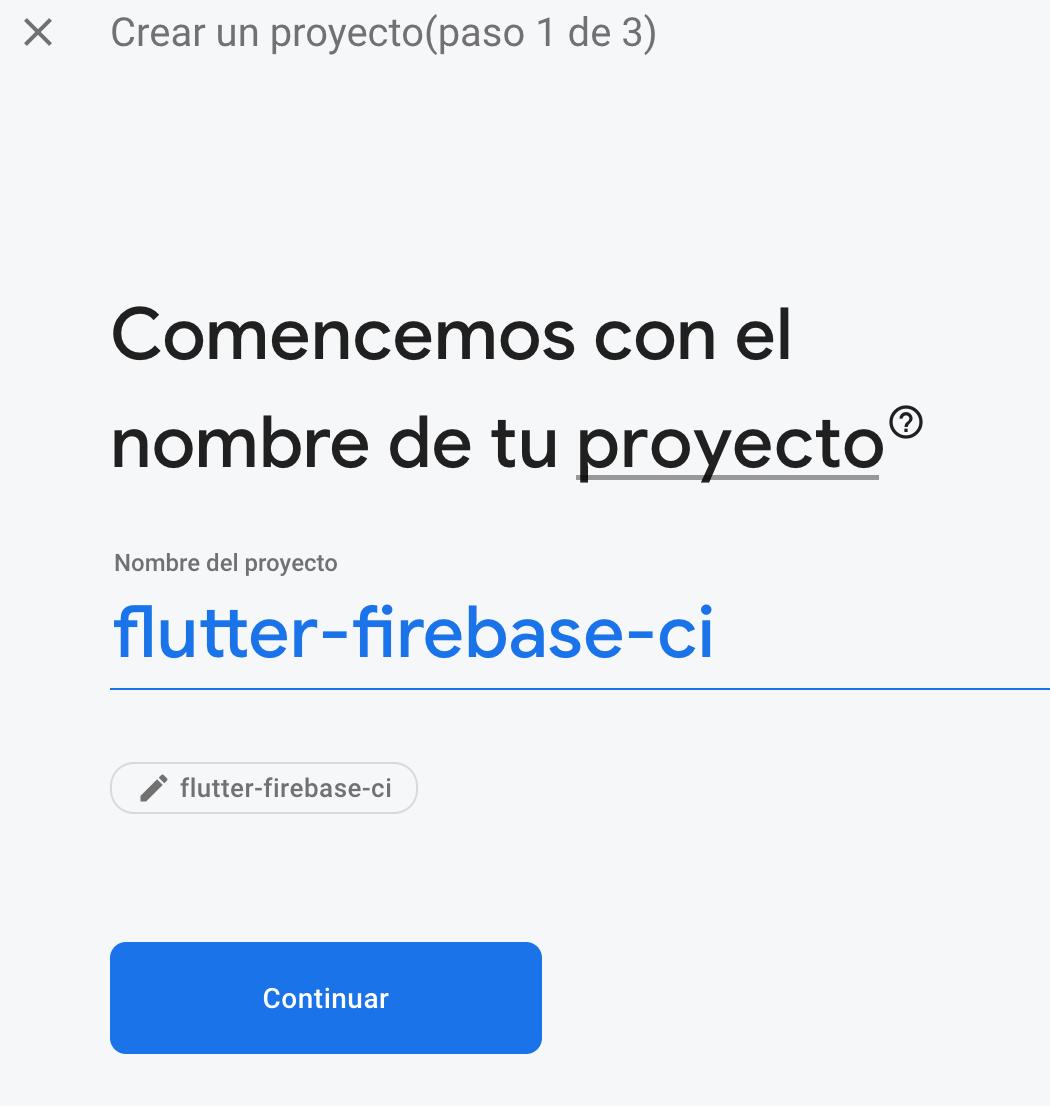 Crear un proyecto en Firebase