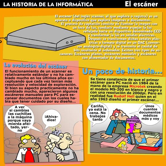 Historia de la Inform�tica. Monogr�ficos. El Esc�ner