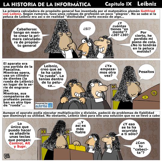 Historia de la inform�tica. Cap�tulo 9. Leibniz