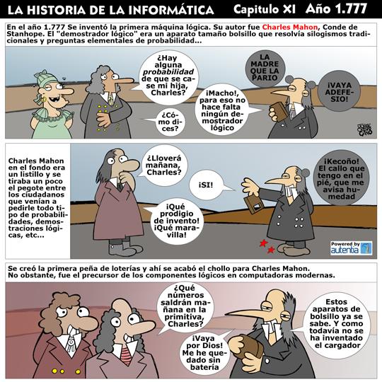 Historia de la inform�tica. Cap�tulo 11. La m�quina l�gica