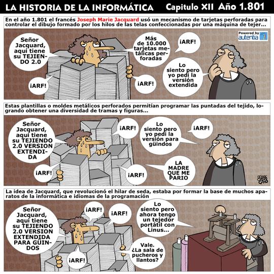 Historia de la inform�tica. Cap�tulo 12. Tecnolog�a de tarjeta perforada