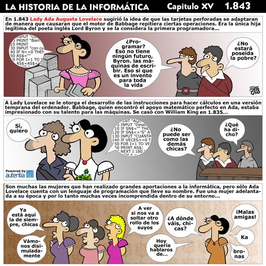 Historia de la inform�tica. Cap�tulo 15. Ada Lovelace