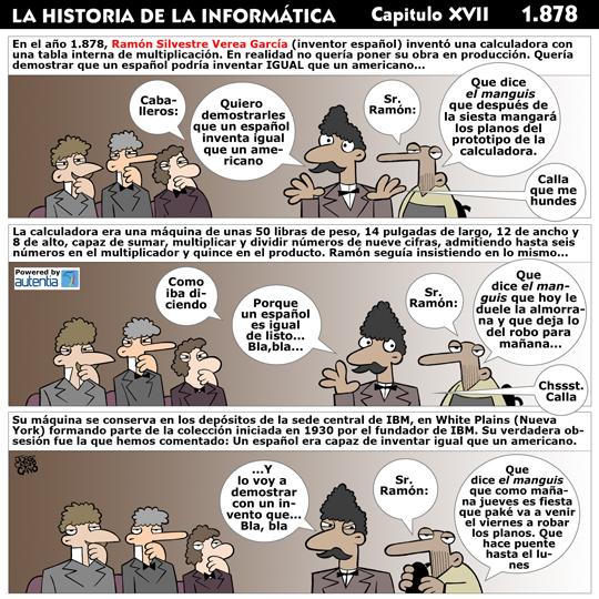 Historia de la inform�tica. Cap�tulo 17. Ram�n Verea