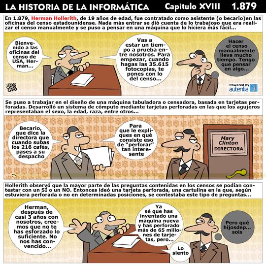 Historia de la inform�tica. Cap�tulo 18. Herman Hollerith