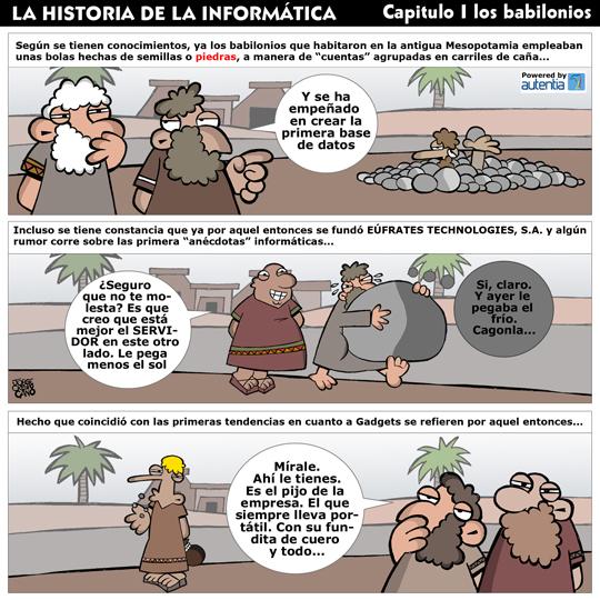 Historia de la inform�tica. Capitulo 1. Los babilonios.