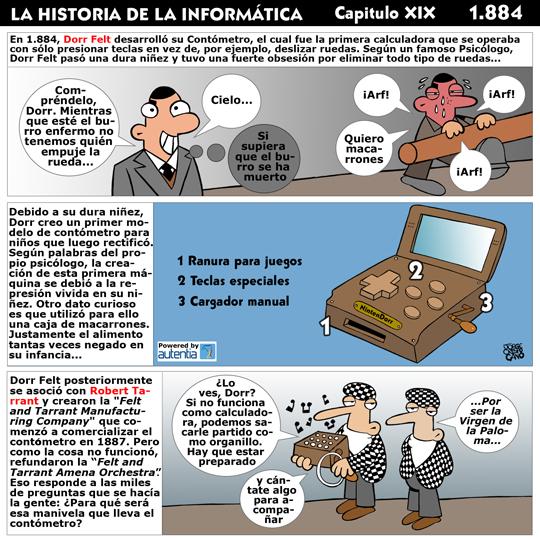 Historia de la inform�tica. Cap�tulo 19. El Cont�metro