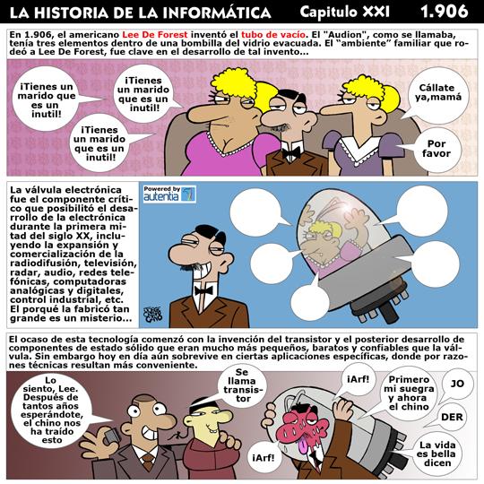 Historia de la inform�tica. Cap�tulo 21. El tubo de vac�o
