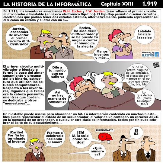 Historia de la inform�tica. Cap�tulo 22. El Flip-Flop