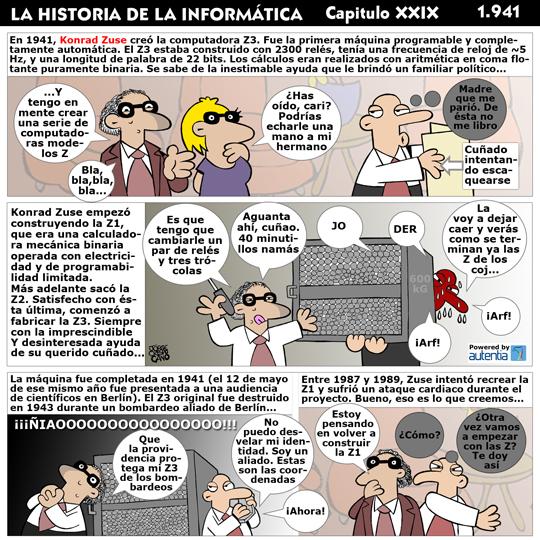 Historia de la inform�tica. Cap�tulo 29. Konrad Zuse