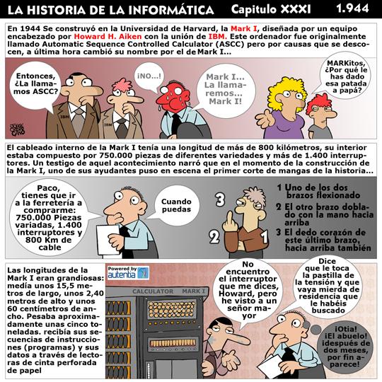 Historia de la inform�tica. Cap�tulo 31. Mark I