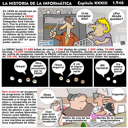 Historia de la inform�tica. Cap�tulo 33. Eniac