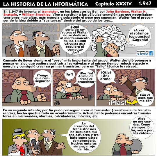 Historia de la inform�tica. Cap�tulo 34. El transistor