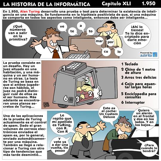 Historia de la inform�tica. Cap�tulo 36. La Prueba de Turing