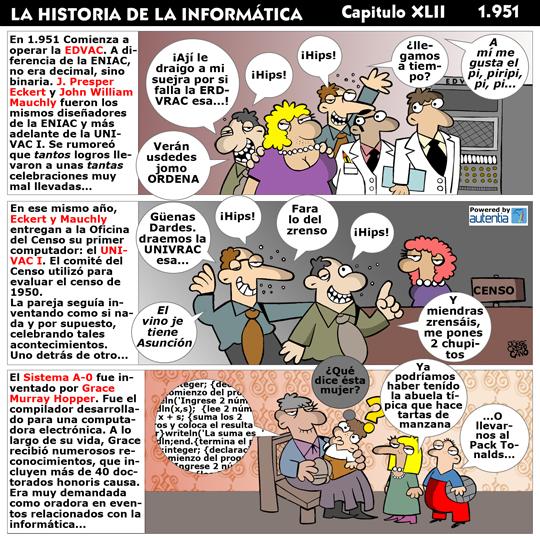 Historia de la inform�tica. Cap�tulo 37. 1951