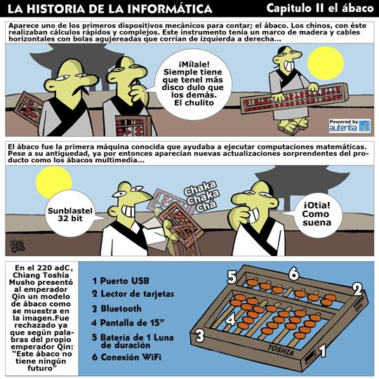 Historia de la inform�tica. Cap�tulo 2. El �baco
