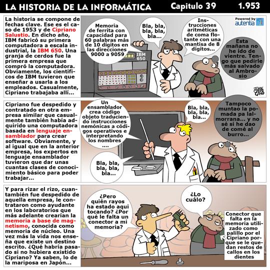 Historia de la inform�tica. Cap�tulo 39. 1953