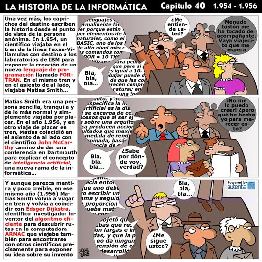 Historia de la inform�tica. Cap�tulo 40. Fortran, IA y Dijkstra