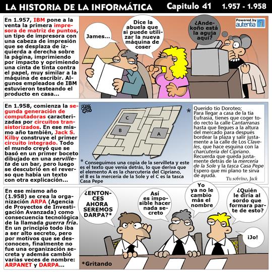 Historia de la inform�tica. Cap�tulo 41. 1957-1958
