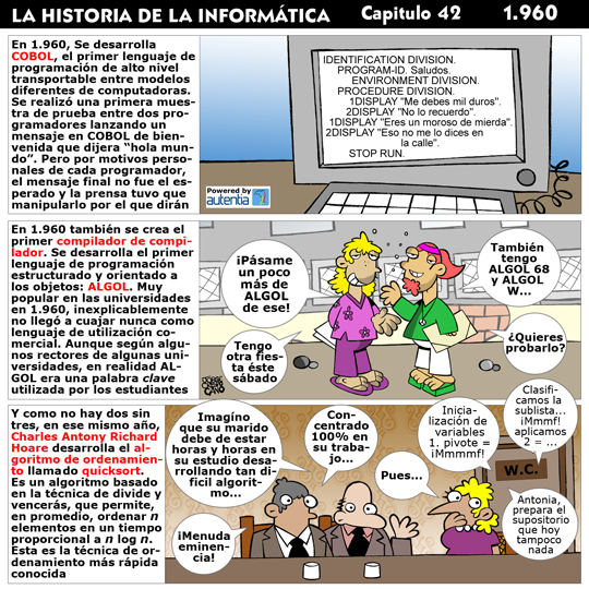Historia de la inform�tica. Cap�tulo 42. 1960