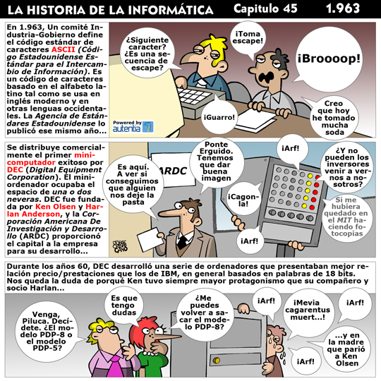 Historia de la inform�tica. Cap�tulo 45. 1963