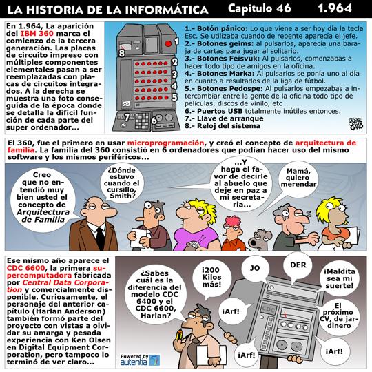 Historia de la inform�tica. Cap�tulo 46. 1964
