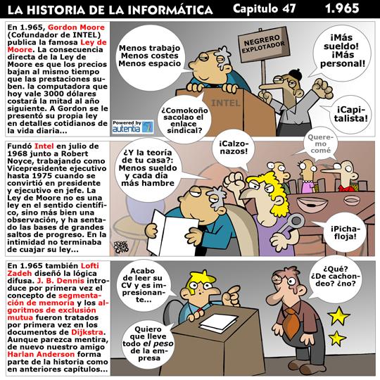 Historia de la inform�tica. Cap�tulo 47. 1965