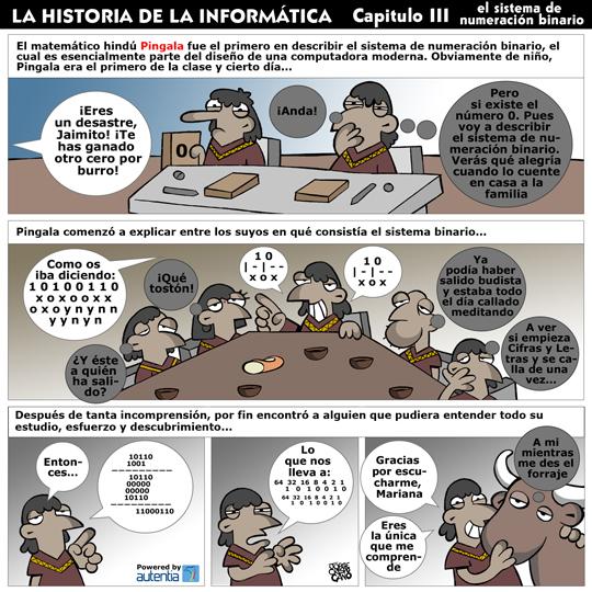 Historia de la inform�tica. Cap�tulo 3. El sistema de numeraci�n binario