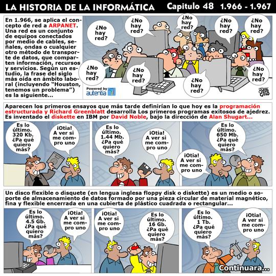 Historia de la inform�tica. Cap�tulo 48. 1966-1967