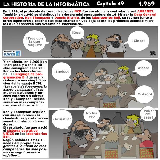 Historia de la inform�tica. Cap�tulo 49. 1969