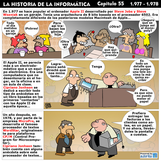 Historia de la inform�tica. Cap�tulo 55. 1977-1978