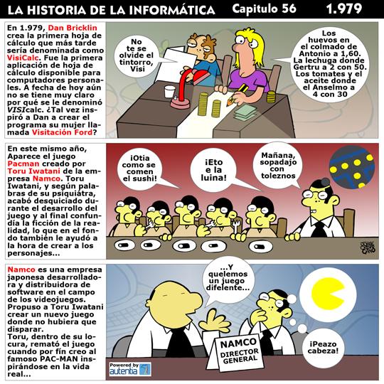 Historia de la inform�tica. Cap�tulo 56. 1979