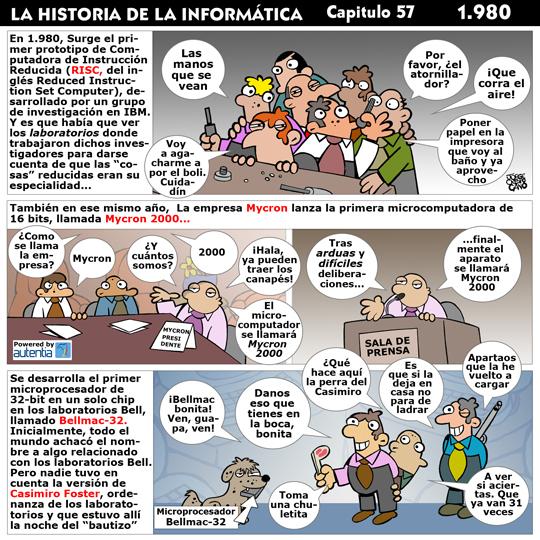 Historia de la inform�tica. Cap�tulo 57. 1980