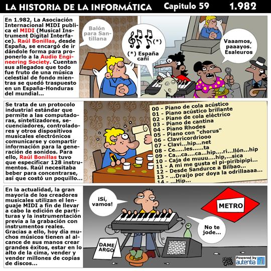 Historia de la inform�tica. Cap�tulo 59. 1982