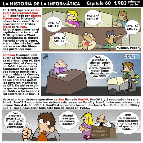 Historia de la inform�tica. Cap�tulo 60. 1983 (1� parte)