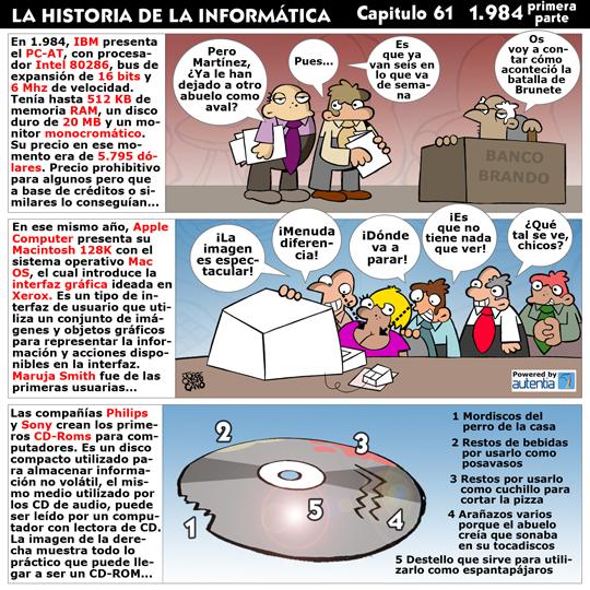 Historia de la inform�tica. Cap�tulo 61.1984 (1� parte)