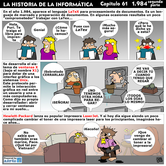 Historia de la inform�tica. Cap�tulo 61.1984 (2� parte)