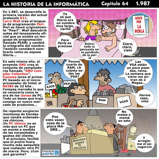 Historia de la Inform�tica. Cap�tulo 64. 1987